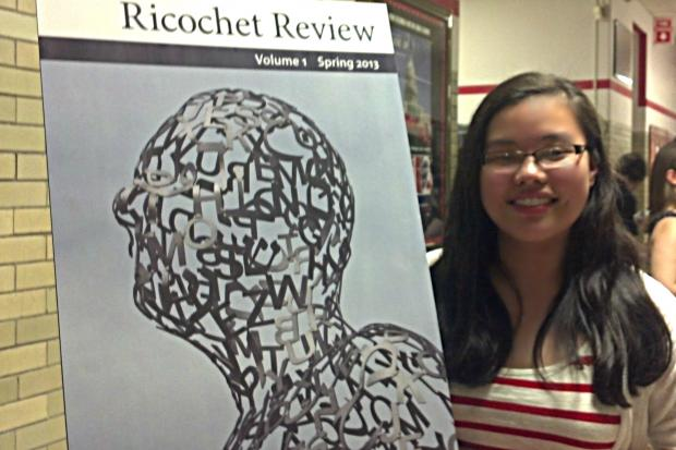 Von Steuben High School launches poetry magazine,  Ricochet Review.