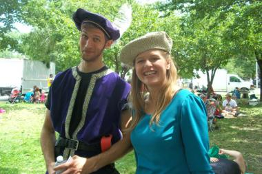 The Shakespeare All-Stars are among the attractions at the Independence Park Farmers Market.