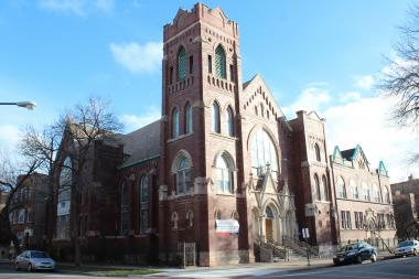 St. John Lutheran Church at 913-25 N. Hoyne Ave. in Ukrainian Village was sold to a developer in February and included in the historic landmark district in March.