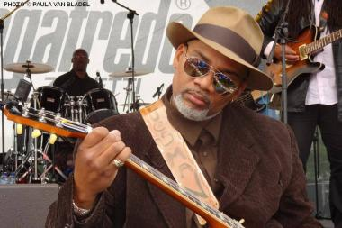 Toronzo Cannon, 45, of Bridgeport, will perform Friday at the Chicago Blues Fest.
