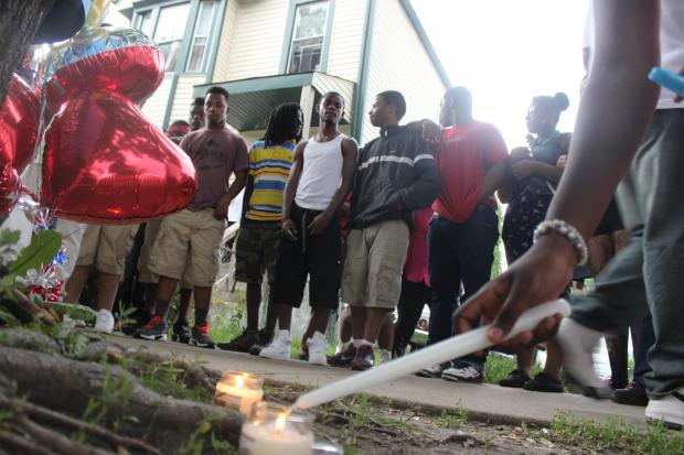 Michael Westley, 15, was killed by police Sunday night.