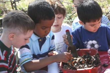 Waters Elementary School is in the running for a $75,000 grant to support its ecology program.