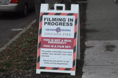 "The NBC drama ""Chicago Fire"" is scheduled to begin filming in Ukrainian Village Wednesday afternoon."