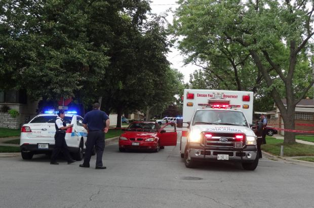A 20-year-old man was wounded in the thigh when he was shot near East 92nd Street and Constance Avenue on Saturday, July 27, 2013.