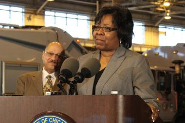 Ald. Michelle Harris has called a meeting of the Rules Committee immediately before Wednesday's City Council.