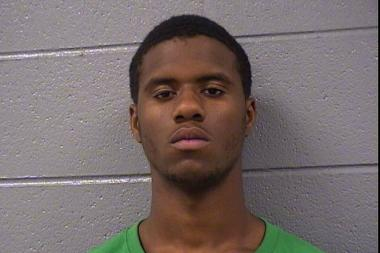 Angelo Clark (pictured), 17, of the 12100 block of South Lafayette Avenue; Lynom Barker, 16, of the 1800 block of North Luna Avenue; and Ladon Barker, 15, of the 106th block of South Wabash Street, are charged in the shooting of a 6-year-old girl.