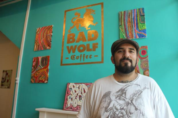 "Bad Wolf Coffee opened in Lakeview at 3442 N. Lincoln Ave., near the Paulina Brown Line ""L"" station."