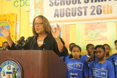Chicago Board of Education CEO Barbara Byrd-Bennett. (File Photo).
