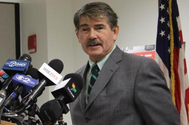 Cook County Clerk David Orr called for city development funds to be diverted to public schools.
