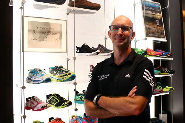Dave Zimmer, the owner of Chicago's two Fleet Feet Sports running stores, has fostered a massive running community in Chicago that has resulted in 22 marriages.