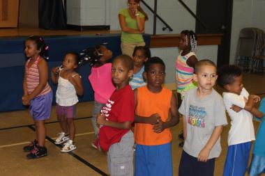 A youth camp started by the National Society of Black Engineers starts July 7, 2014 at Miles Davis Academy in Englewood.