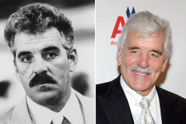 Dennis Farina starred in the 1988 film Midnight Run (r.) and attended the 47th Chicago International Film Festival's opening night in 2011 (r.)