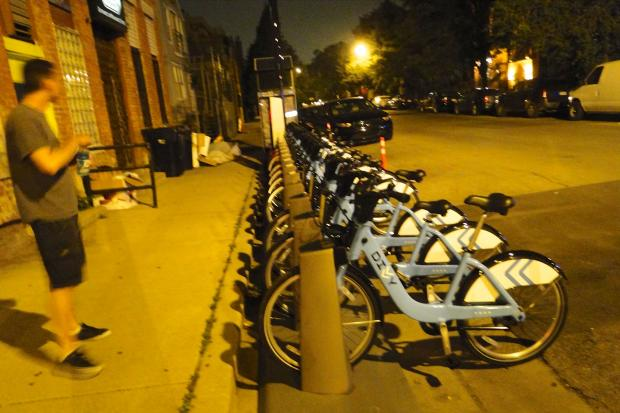 Eight Divvy bike-sharing stations were installed recently in Wicker Park, Bucktown and West Town. Two have already been relocated.