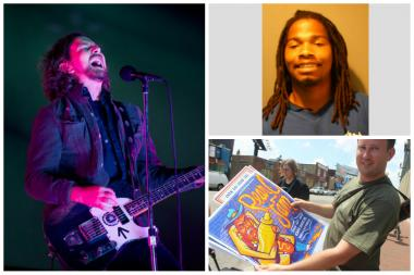 (Top right) Anthony Conner, 21, allegedly tried to sell two fake Pearl Jam tickets for $500, according to prosecutors. Pearl Jam plays at Wrigely Field on Friday.