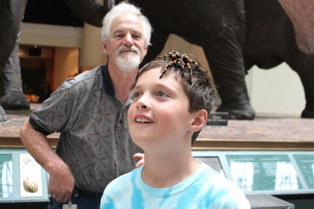 The Field Museum's Meet a Scientist program allows all patrons to interact with the museum's scientists and exhibits.