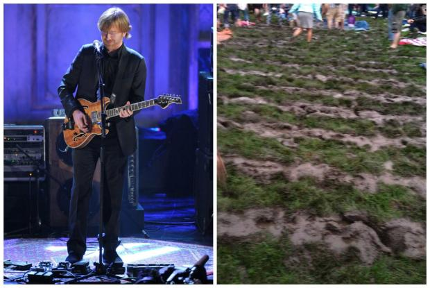 FirstMerit Bank Pavilion and Live Nation reassured Phish fans they won't have a conert with a muddy lawn, warm beer and poor sound.