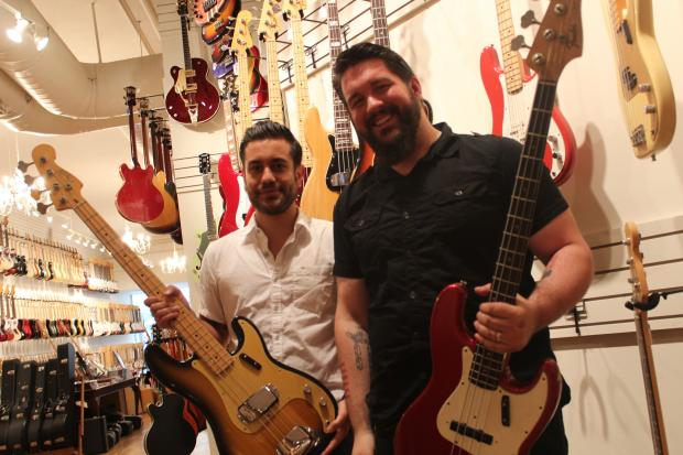 The guitar store plans to take bass out of the corner in the next month with a new floor dedicated to bass players.