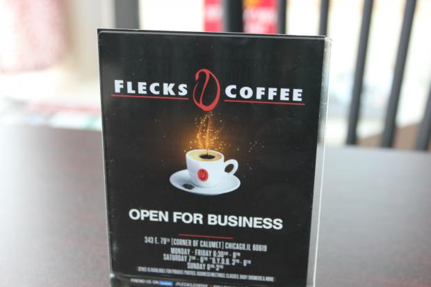 Flecks Coffee opened in Chatham on June 15.