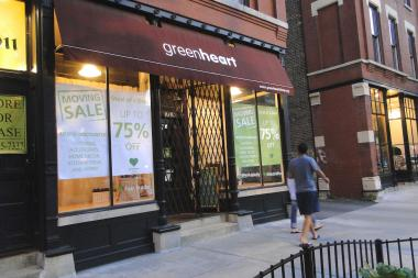 Greenheart Shop at 1911 W. Division St. in Wicker Park is closing July 21 and headed to Old Town.