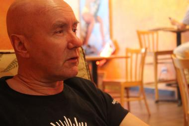 "Irvine Welsh, Scottish and cult-icon author and screenwriter, lives in Lakeview and co-wrote ""Creatives"" with local author Don De Grazia."