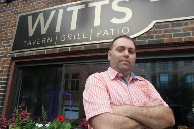 Jim Burke, 36, is the new owner of Witt's, a neighborhood bar at 2913 N. Lincoln Ave.