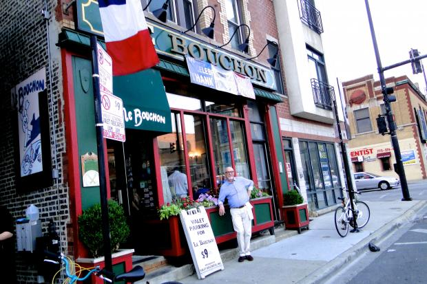 Le Bouchon at 1958 N. Damen celebrated its 20th anniversary in June.  In July, it's still trekking strong.