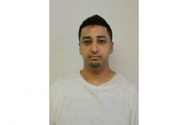 Neil Surati, 24, faces a charges of agggravated battery and criminal damage to property.
