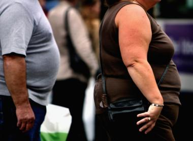 Generally, people are defined as obese if they are 20 percent or more over their ideal weight.