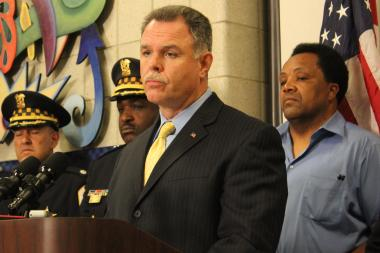 "Chicago Police Supt. Garry McCarthy said, ""We all have a role to play"" in fighting crime, and the new digital initiatives will improve communication with communities."