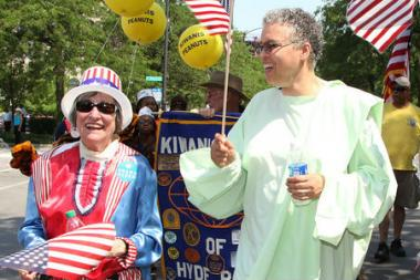 Image result for toni preckwinkle lady liberty