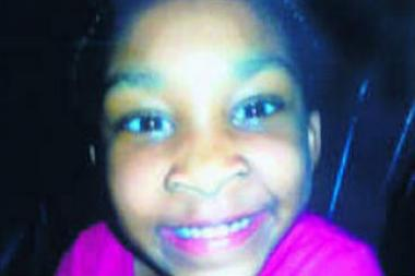 Quianna Tompkins, 6, was shot Friday at a memorial service. She is hospitalized in critical but stable condition.