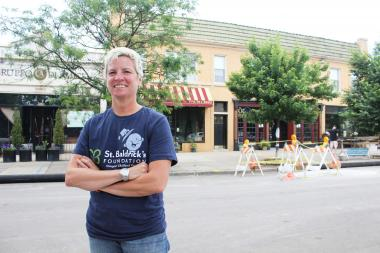 Renee Labrana plans to open a pub, called R Public House, on Aug. 1 in Jarvis Square.