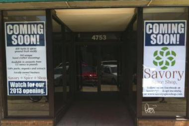 Save the date for Savory Spice Shop's grand opening, Sept. 14.