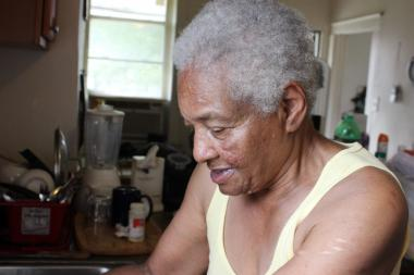 Gloria Hadley, 77, said she is struggling to keep her Grand Crossing home from falling into foreclosure due to her fixed monthly income of $647.