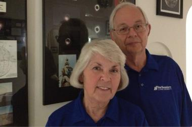 Northeastern Illinois University president Sharon Hahs and her husband Billy have spent the last 22 years chasing total eclipses around the world.