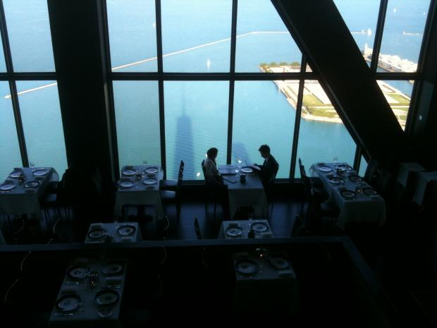 The 95th floor restaurant in the John Hancock Building celebrates 20 years.