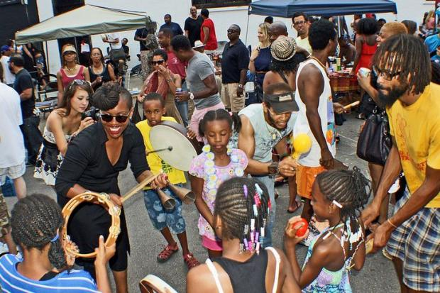 "Themed ""Look Up,"" the Silver Room's 11th annual Sound System Block Party is scheduled for noon to 10 p.m. Saturday on Evergreen Avenue between Wicker Park and Milwaukee avenues."