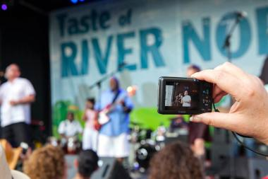 Snapshots from last year's Taste of River North.