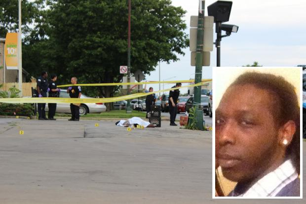 A man was gunned down on the corner of 99th and Halsted streets early Tuesday morning. Family identified the man as 23-year-old Terrence Graves. Graves was shot to death while he sold  Sun-Times  newspapers near a corner gas station.
