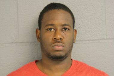 Terry Glover, 24, of the 0-100 block of North Parkside Avenue, allegedly beat two two women while yelling gay slurs.