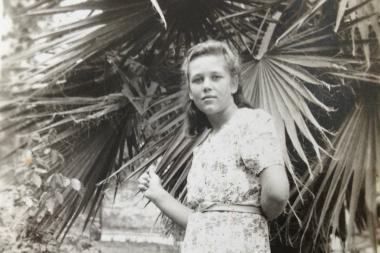 Theresa Sokolowski poses for a photo in Leon, Guanajuato, Mexico. Sokolowski, who eventually came to Chicago and graduated from Wells High School, now lives in Niles.