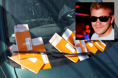 Nick Gartman's Ticket Ninja site is designed to help those with chronic parking ticket problems.
