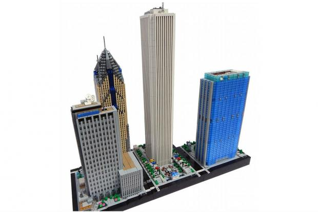 Illinois Institute of Technology freshman Rocco Buttliere is tackling Chicago's skyline on a 1:650 scale, one Lego at a time.