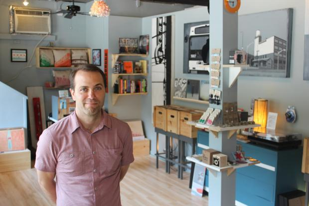 Transistor Chicago, an eclectic shop and creative space, moved to 3441 N. Broadway in Lakeview from North Center earlier this month.