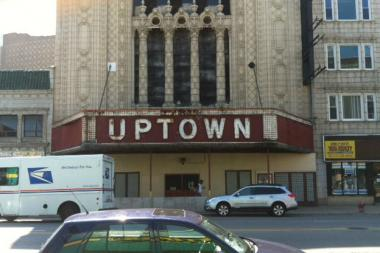 Uptown Theater is one of more than 50 buildings in the proposed landmark district.