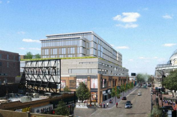 Developers of the long-stalled Addison Park on Clark project hope to gain city approval this fall for an adjusted plan with 148 apartments, 493 parking spaces and nearly 170,000 square feet of retail space.
