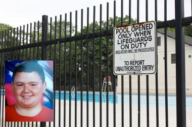 Christopher Bowen, 14, died Friday afternoon after he was found in the McKinley Park pool.