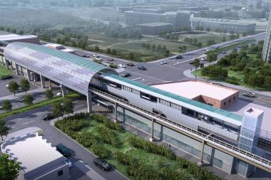 The CTA's new Cermak-McCormick Place station is to be completed by the end of next year.