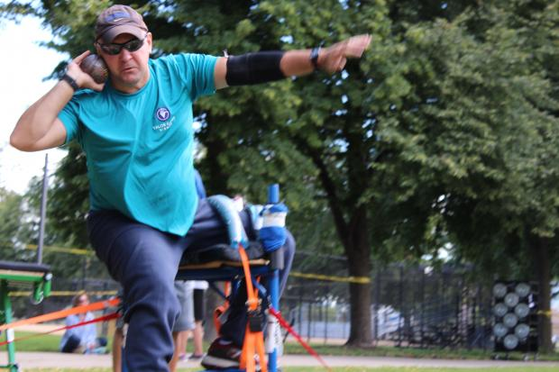 Armour Square Park plays host to annual competition for active duty and military veterans.