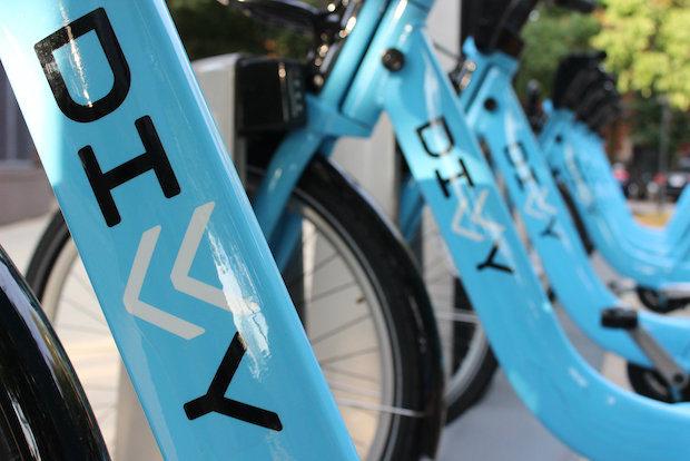 Divvy bikes have debuted in Lincoln Square.